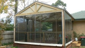 Rope and Pulley Outdoor Blinds Melbourne